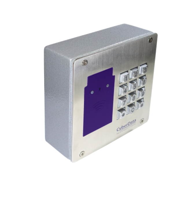 CyberData RFID Secure Access Control Endpoint with Keypad