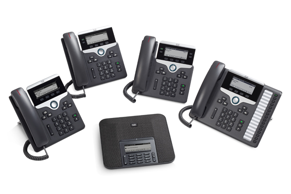 Cisco 7800 series phones