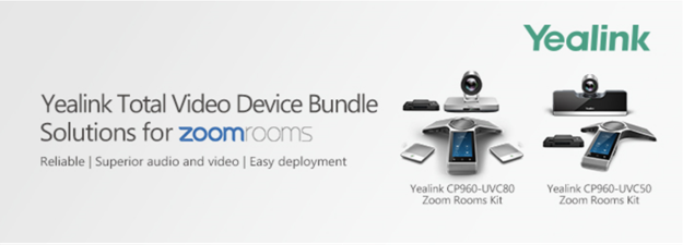 Yealink video conferencing, zoom rooms, cp960 from 888VoIP