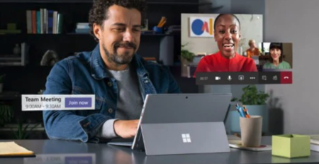 Microsoft Teams Work at Home